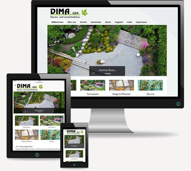 Garten- und Landschaftsbau DIMA Gbr.