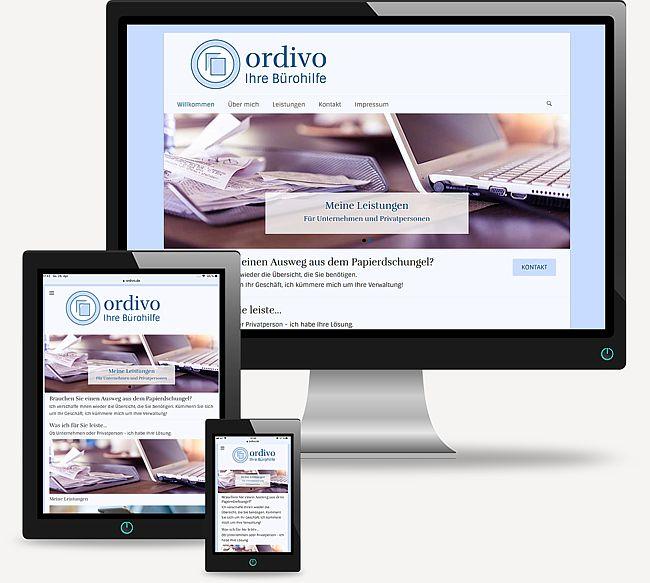 ordivo - Ihre Bürohilfe